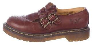 Dr. Martens Leather Mary-Jane Oxfords