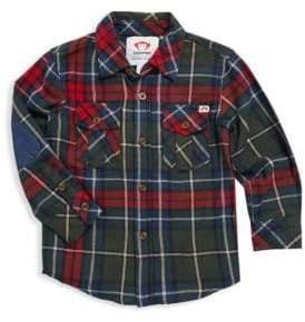 Appaman Toddler's, Little Boy's& Boy's Cotton Plaid Flannel Shirt
