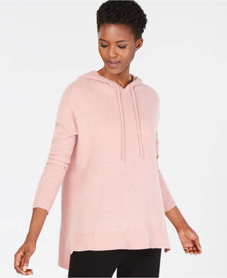 Charter Club Cashmere High-Low Hoodie in Regular & Petite Sizes, Created for Macy's