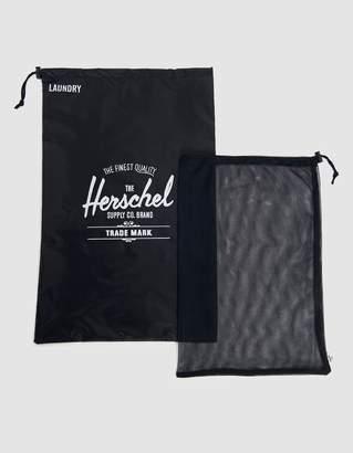 Herschel Laundry Bag Set in Black