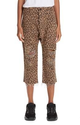 R 13 Leopard Utility Pants