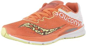 Saucony Women's Fastwitch Running Shoes, Coral/Citron