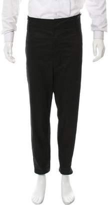 Saint Laurent Flat Front Casual Pants