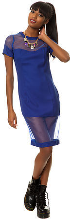 *MKL Collective The Little Secrets Dress in Royal