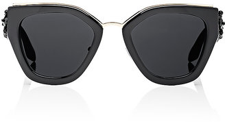 Prada Women's Bead-Embellished Sunglasses $790 thestylecure.com