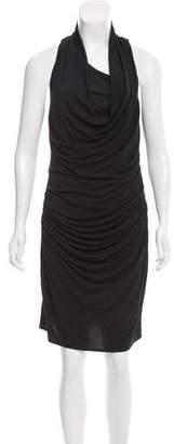 Helmut Lang Side Cowl Sleeveless Dress w/ Tags