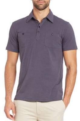 Pocket Short-Sleeve Polo