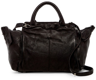 Liebeskind Berlin Fuji Leather Satchel $298 thestylecure.com