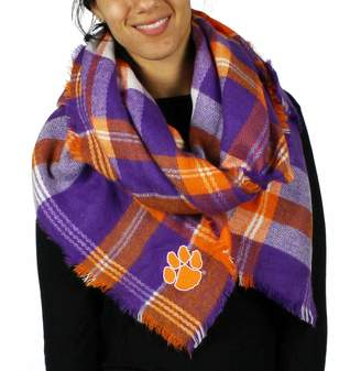 Tailgate Zoozatz Women's Clemson Tigers Blanket Scarf