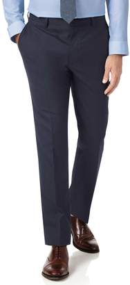 Charles Tyrwhitt Midnight Blue Extra Slim Fit Merino Business Suit Wool Pants Size W32 L34