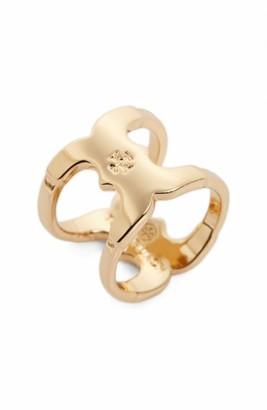 Women's Tory Burch 'Gemini Link' Ring $95 thestylecure.com