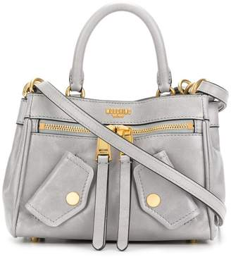 Moschino moto biker shoulder bag