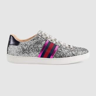 Gucci Ace glitter sneaker