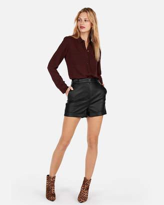 Express Slim Fit Beaded Portofino Shirt
