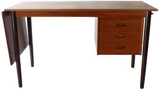 One Kings Lane Vintage Arne Vodder Danish Modern Drop-Leaf Desk