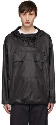 Yves Salomon Black Army Waterproof Jacket