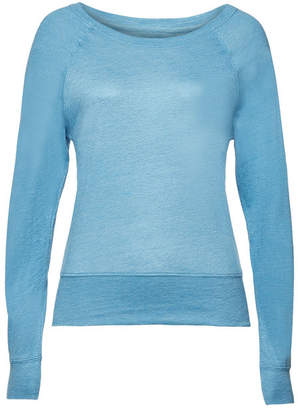 Majestic Sweatshirt with Linen and Silk