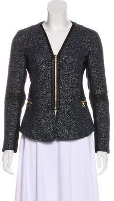 Yoana Baraschi Patterned Metallic-Accented Jacket