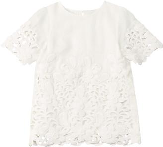 Stella McCartney Floral Crochet Dress