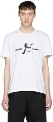 Tim Coppens White American Dreamer Eagle T-Shirt