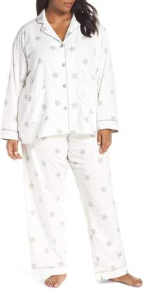 PJ Salvage Print Flannel Pajamas