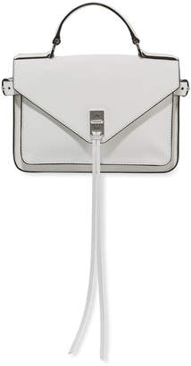 Rebecca Minkoff Darren Leather Top Handle Messenger Bag