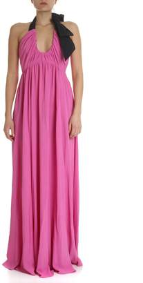 N°21 N.21 Long Dress With Bow Detail