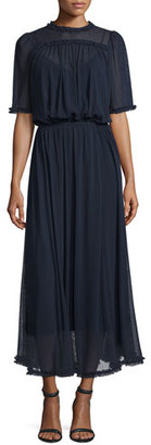 The Great The Gala Prairie Gown, Midnight $595 thestylecure.com