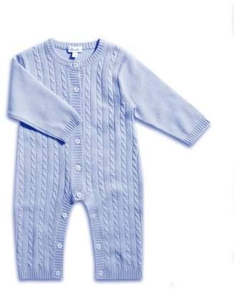 Harrods Cashmere Cable Knit Sleepsuit