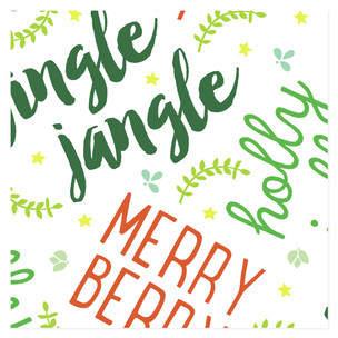 Jingle Jangle Self-Launch Wrapping Paper