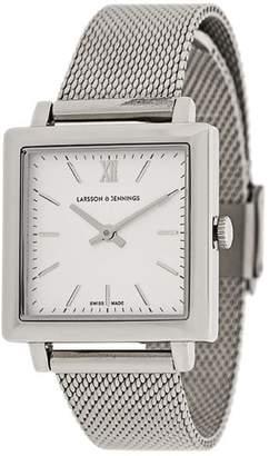 Larsson & Jennings LJXII Norse Milanese 34mm watch
