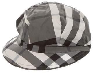 c59001437e8 Burberry Nova Check Newsboy Hat