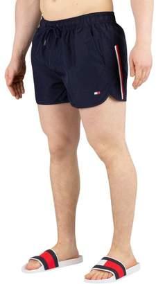 Men's Runner Swim Shorts, Blue