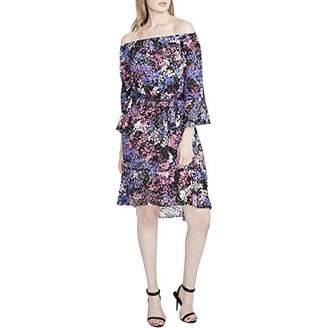 Rachel Roy Women's Floral Off Shoulder Dress