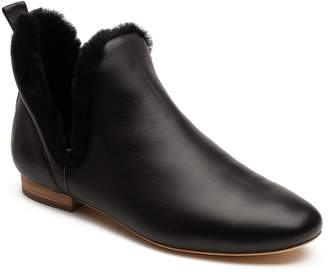 Bill Blass Lake Genuine Shearling Bootie