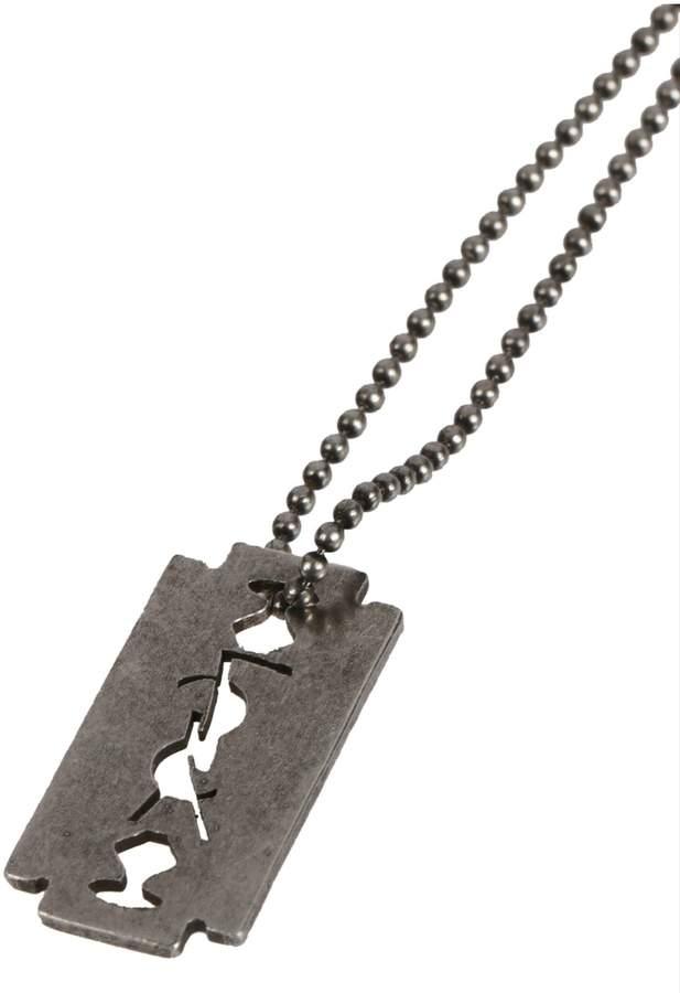 Saint Laurent Blade Pendant Necklace