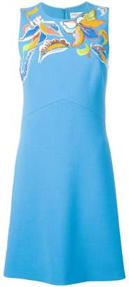 Emilio Pucci fitted printed dress