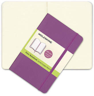 Moleskine NEW Classic Soft Cover Pocket Plain Notebook Orchid