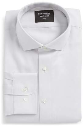 Nordstrom Trim Fit Solid Dress Shirt
