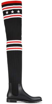 Givenchy sock style rain boots
