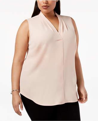 536fede4e528c4 Calvin Klein Pink Plus Size Tops - ShopStyle