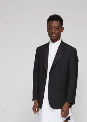 Thom Browne Wide Lapel Single Breasted Sport Coat