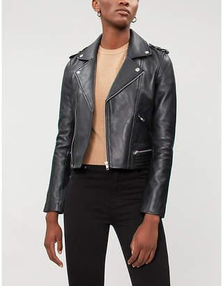 Maje Biker leather jacket