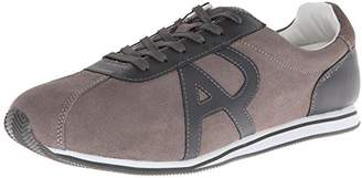 Armani Jeans Men's AJ Logo Retro Trainer