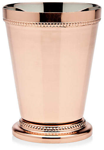 One Kings Lane Cecilia Mint Julep Cup - Copper