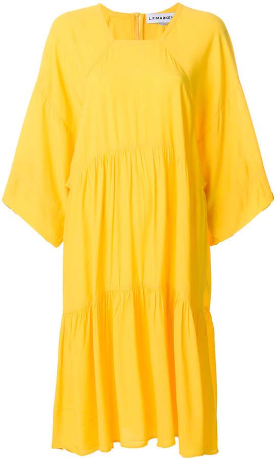 Lf Markey flared midi dress