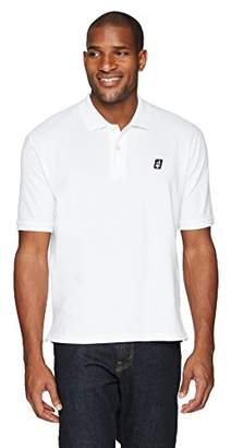 Flying Ace Men's Pique Polo Shirt with Embroidered Logo
