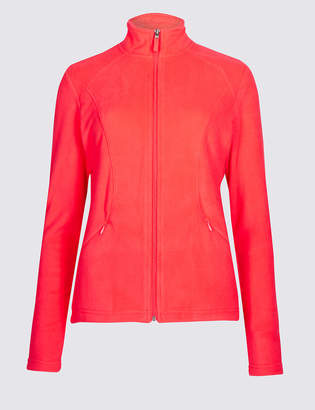 M&S Collection Panelled Fleece Jacket