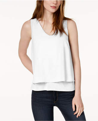 Bar III Layered-Look Tank Top
