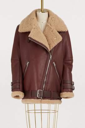 Acne Studios Velocite shearling jacket